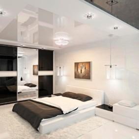 спальня в стиле модерн фото оформления