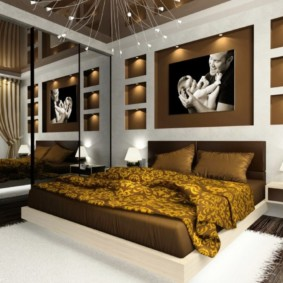 спальня в стиле модерн фото вариантов