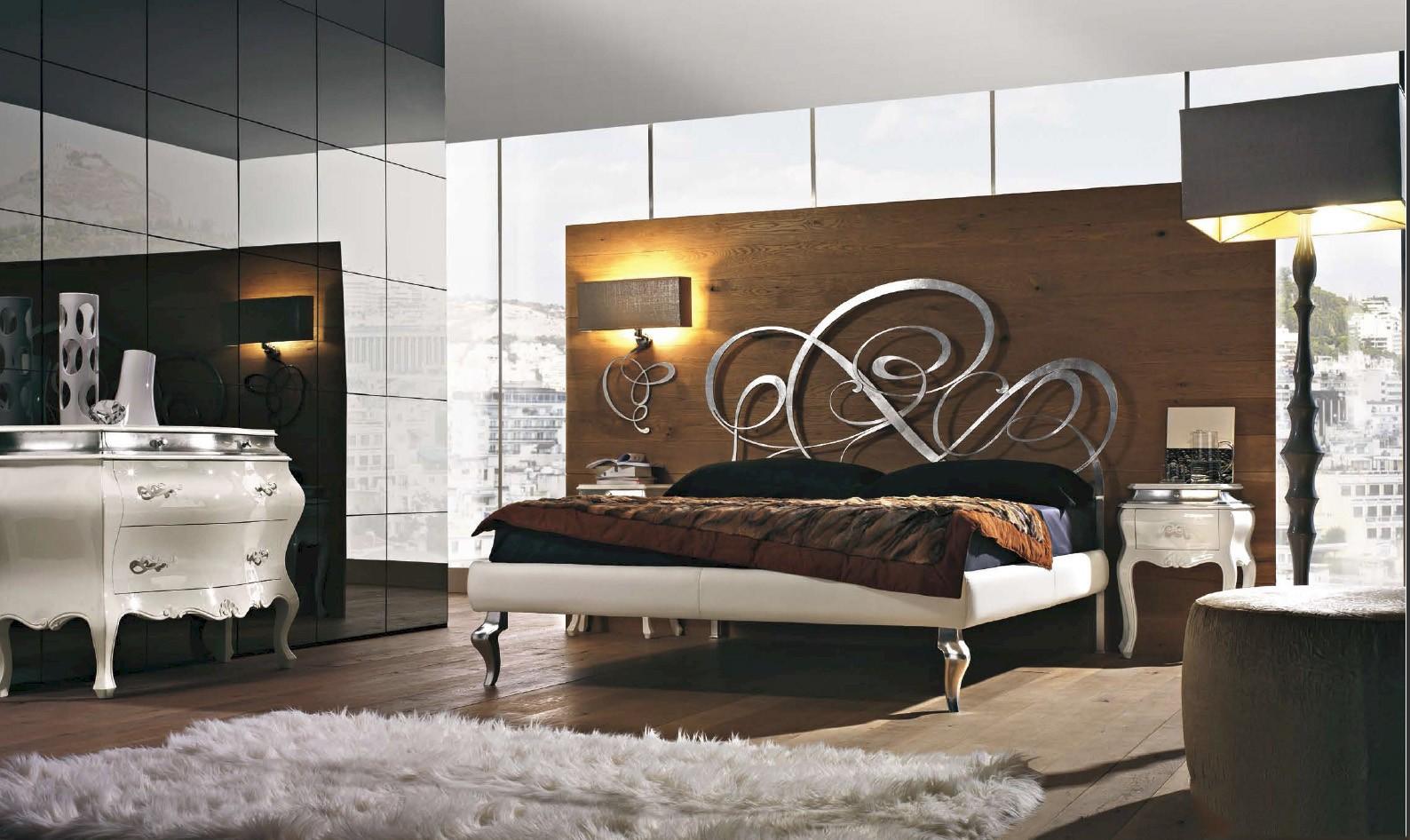 спальня в стиле модерн идеи декора