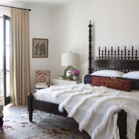 спальня в стиле модерн идеи фото