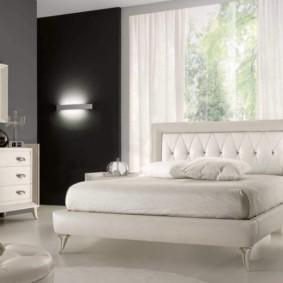 спальня в стиле модерн идеи оформление