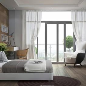 спальня в стиле модерн идеи варианты