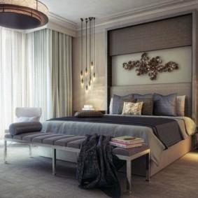 спальня в стиле модерн идеи видов