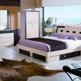спальня в стиле модерн идеи виды