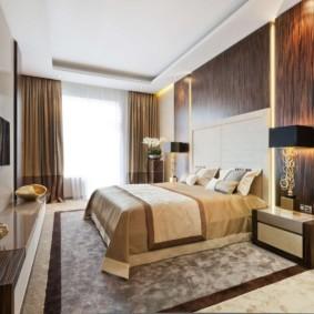 спальня в стиле модерн интерьер