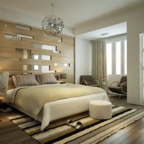спальня в стиле модерн обзор фото