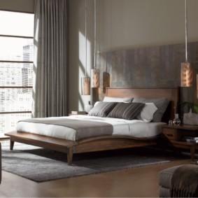 спальня в стиле модерн обзор идеи
