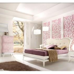 спальня в стиле модерн оформление фото