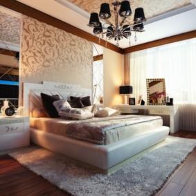 спальня в стиле модерн оформление идеи