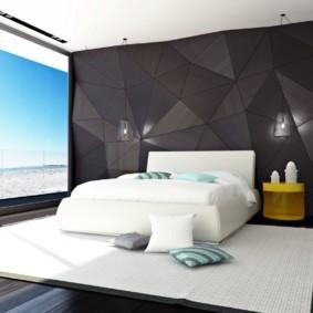 спальня в стиле модерн варианты