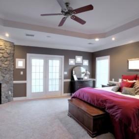 спальня в стиле модерн варианты идеи