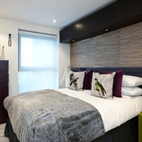 спальня в стиле модерн виды идеи