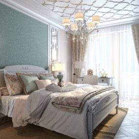 спальня в стиле неоклассика декор фото