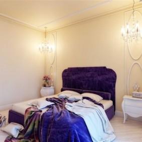 спальня в стиле неоклассика фото декор