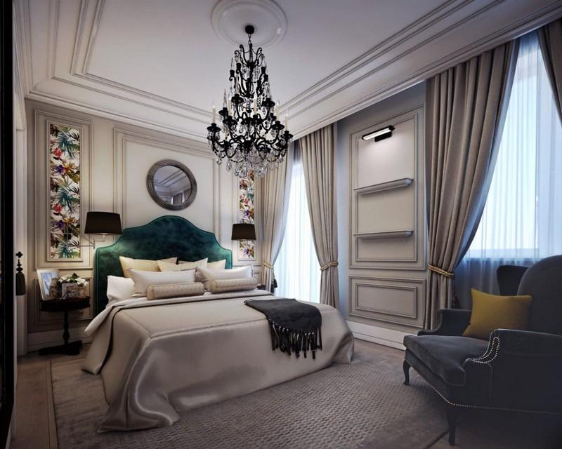 спальня в стиле неоклассика фото дизайн