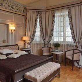 спальня в стиле неоклассика фото интерьера