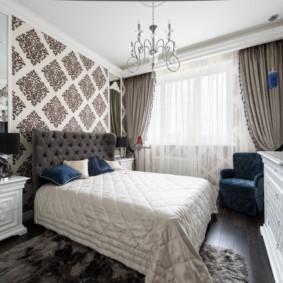 спальня в стиле неоклассика фото оформление