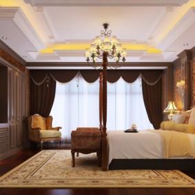 спальня в стиле неоклассика идеи дизайна