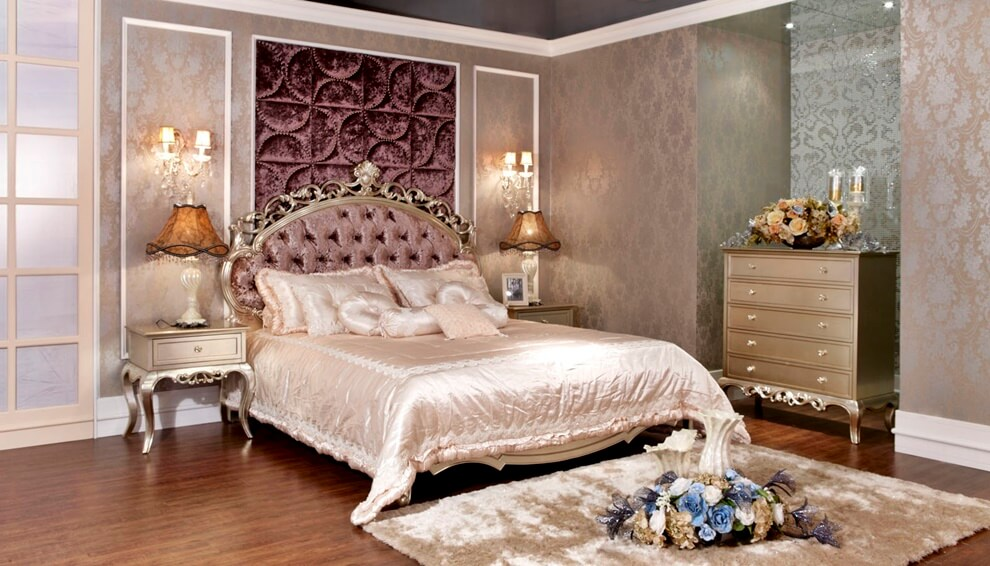 спальня в стиле неоклассика идеи интерьер