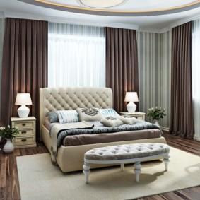 спальня в стиле неоклассика интерьер