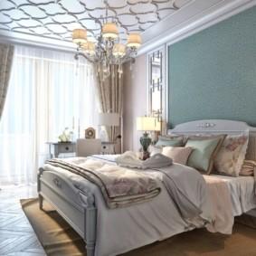 спальня в стиле неоклассика интерьер фото