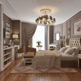 спальня в стиле неоклассика оформление фото