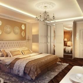 спальня в стиле неоклассика варианты