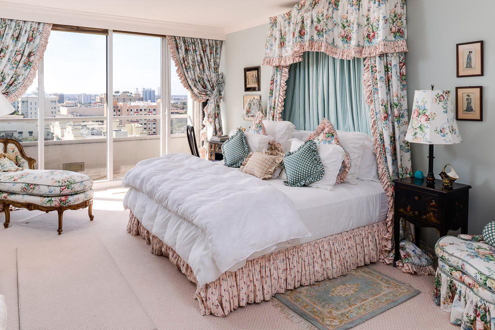 спальня в стиле прованс цветовое решение