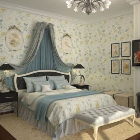 спальня в стиле прованс декор идеи