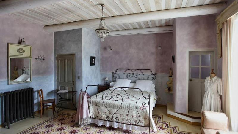спальня в стиле прованс дизайн фото