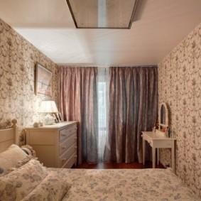 спальня в стиле прованс дизайн интерьера