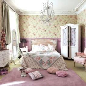 спальня в стиле прованс дизайн оформления