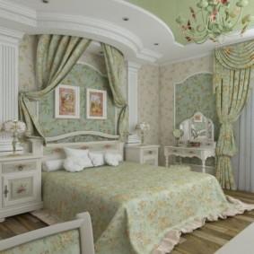 спальня в стиле прованс фото декор