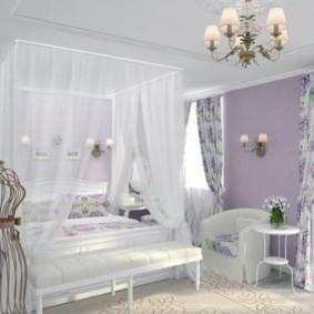 спальня в стиле прованс фото декора