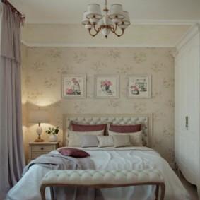 спальня в стиле прованс фото дизайна