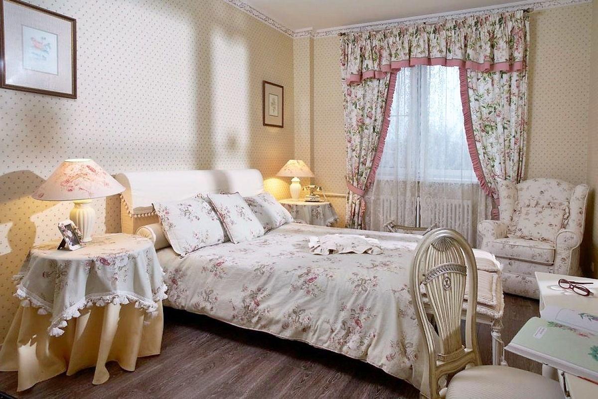 спальня в стиле прованс фото обзор