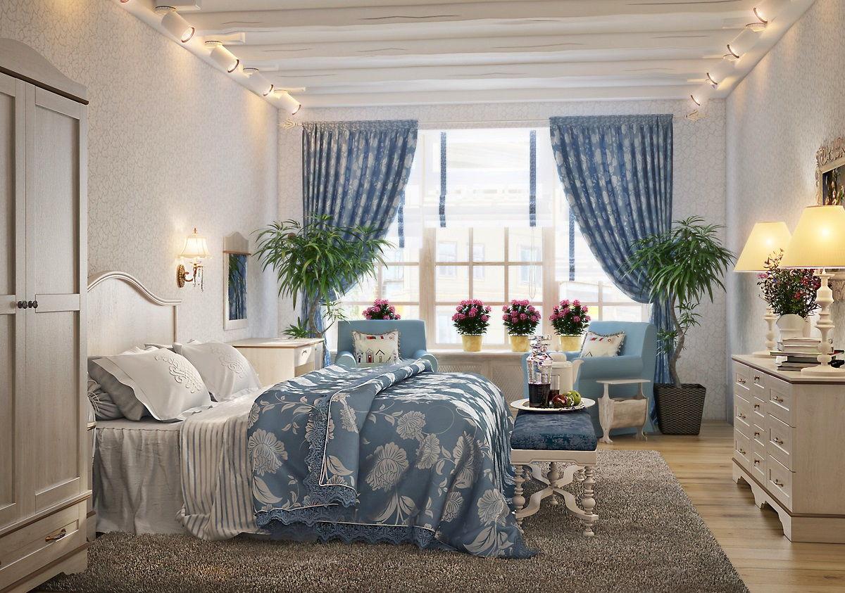 спальня в стиле прованс фото обзоры