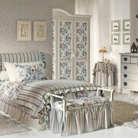 спальня в стиле прованс фото вариантов