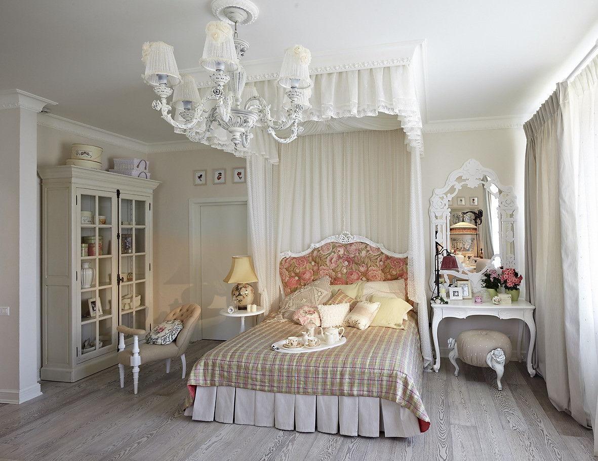 спальня в стиле прованс фото виды
