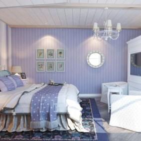 спальня в стиле прованс идеи фото
