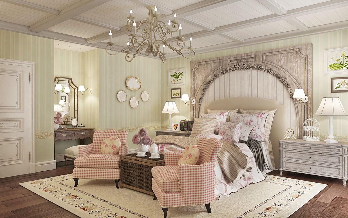 спальня в стиле прованс идеи оформление
