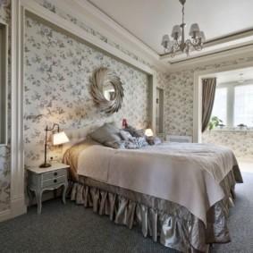 спальня в стиле прованс идеи текстиль