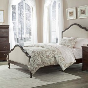 спальня в стиле прованс интерьер