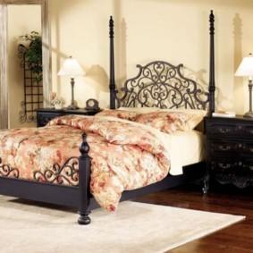 спальня в стиле прованс интерьер фото