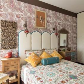 спальня в стиле прованс оформление