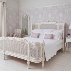 спальня в стиле прованс текстиль