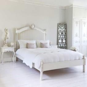 спальня в стиле прованс текстиль фото