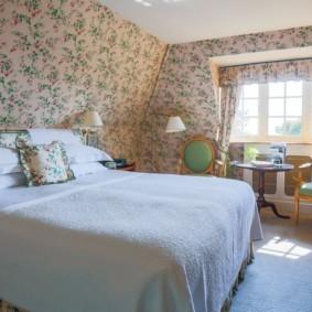 спальня в стиле прованс варианты декора