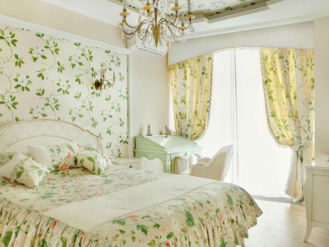 спальня в стиле прованс варианты идеи
