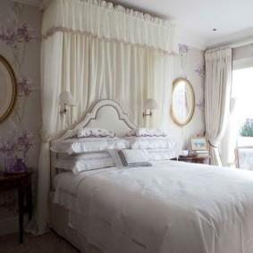 спальня в стиле прованс варианты интерьера